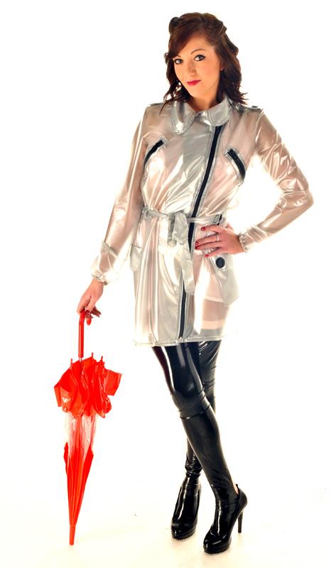 CAT2 - PVC Club Coat