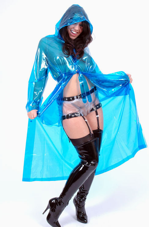 "PVC Raincoat ""all day"""