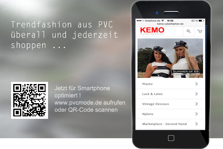 PVC-Fashion Smartphone Shopping