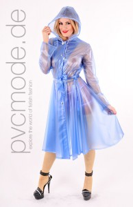 Romantic Raincoat aus PVC