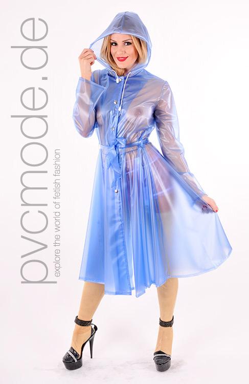 Romantic Raincoat aus PVC